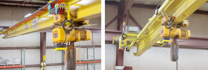 Crane bridge electrification - QuickBridge