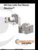 Manual - Cable Reels, RHINOREEL