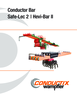 Preview: Catalog - Conductor Bar, Safe-Lec 2 / Hevi-Bar II