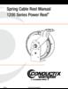 Manual - Cable Reels, 1200 Series