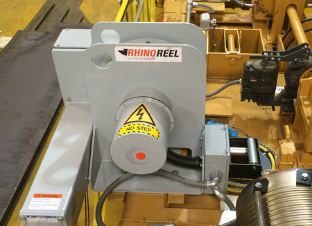 RhinoReel - Mill Duty Spring Reel