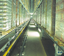 Warehousing, refrigerated warehouse