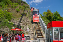 Hornblower Incline Railway powered by Conductix-Wampfler