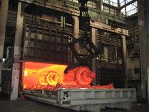 Process Crane in a smithy