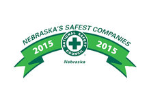 "Logo of ""Nebraska's Safest Companies"""