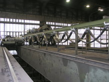 Process-Overhead Crane in a steelwork