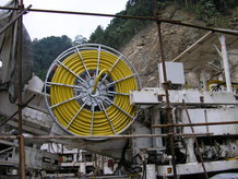 Tunnel drilling machine