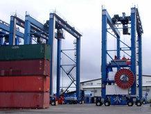 E-RTG TM Container Crane