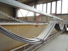 Process Crane in a ceramics factory