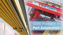World Premiere in Port Automation