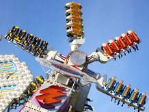 Slip-Ring Assemblies are often in use for rotary movements at Amusement Rides