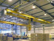 Power supply for an EOT Crane