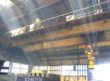 Process Crane in a Steelwork