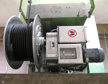 Feed-in and drive unit for a Transfer Car