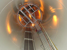 Tower Buss, the system for down-tower power transmission